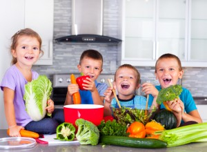 Kids and the essential ingredients for a Balanced Body – why a varied diet means change is good for you