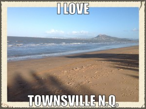 "Thank you for Supporting the ""I Love Townsville Meme"""