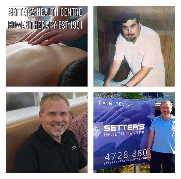 Bowen Therapy Pain Relief Townsville EST 1991.