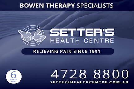 Pain Management In Townsville With Our Focused Practice OF Bowen Therapy At Setter's Health Centre For 29 Years.