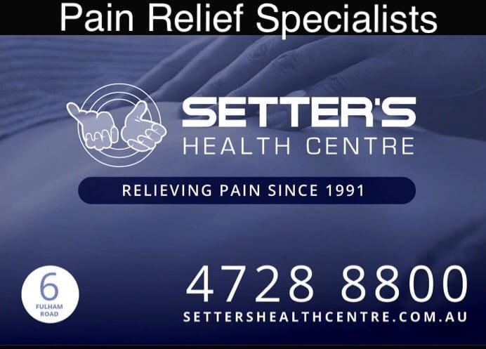 B PAIN FREE @ SETTER'S H.C.