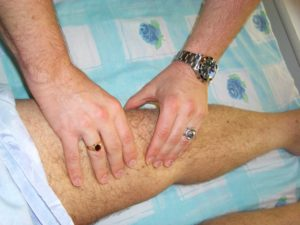 Anterior Anterior Cruciate Ligament (ACL) Pain Relief With Bowen Therapy At Setter's H. C.